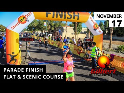 Gilbert Half Marathon & 10k 2018 Promo Video