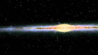 Ambient Warp Starfield - 1080P - 60FPS - 4h - (Galaxy Traversal)
