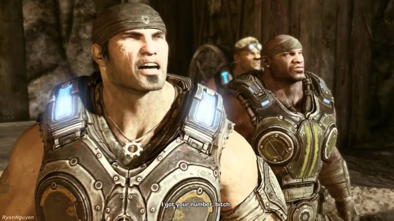 how to get a knife execution in gears of war