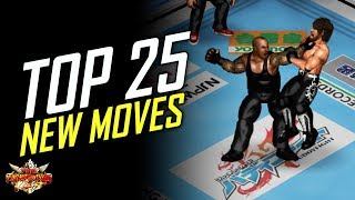 FPWW PS4 - TOP 25 NEW MOVES! (Fire Pro Wrestling World)