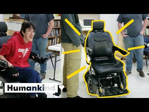 Louie Cruz - Teen Saves His Money To Surprise His Friend With New Wheelchair