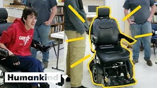 Teen saves for years to surprise friend with new wheelchair| Humankind
