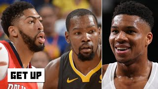 Giannis is 'Anthony Davis and Kevin Durant's child' - Jay Williams | Get Up