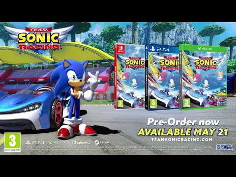 Game review: Team Sonic Racing attempts to outrace Mario