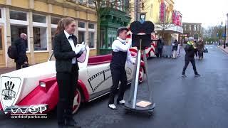 Movie Park Germany 2018 - Street Entertainment Marilyn Monroe Show Neuheit 2018