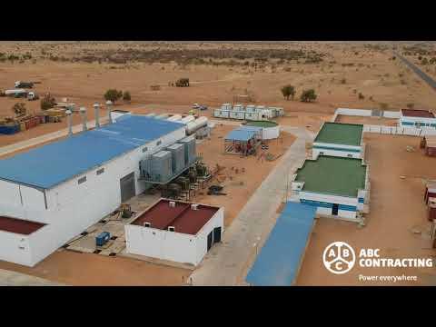 Hybrid Power Plant in Africa (Kiffa - Mauritania)