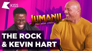 The Rock & Kevin Hart on THAT Jonas Brothers collab? #Jumanji #TheNextLevel