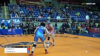Junior WM 112 Consi of 8 #2 - Gabrielle Skidmore (WI) vs. Allie Grobarchik (WI)