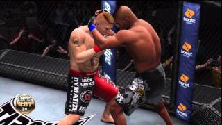 UFC Undisputed 3 Gameplay: Alistair Overeem vs. Brock Lesnar (Cpu vs. Cpu)