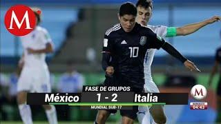 Italia vence a Me xico en el Mundial Sub 17