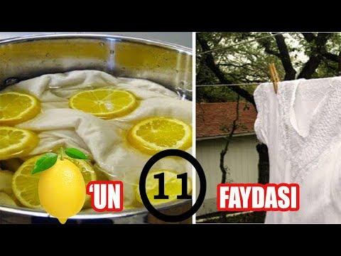 LİMONUN 11 HARİKA KULLANIM ALANI  /  Limonun Faydaları