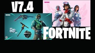 Fortnite V7.4 Coming Soon!! Exclusive Nvidia Skin Unlocked! *NEW* Item Shop Update!