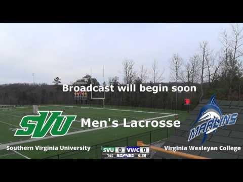 Southern Virginia University Men's Lacrosse vs Virginia Wesleyan College