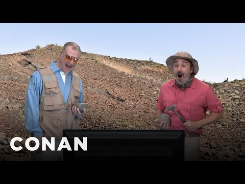 Conan's Niche Entertainment For Geologists Who Are Into Smash Mouth - CONAN on TBS