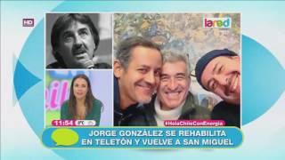 Jorge González se reahabilita en Teletón y vuelve a San Miguel