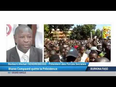 Burkina Faso: Blaise Compaoré quitte la Présidence