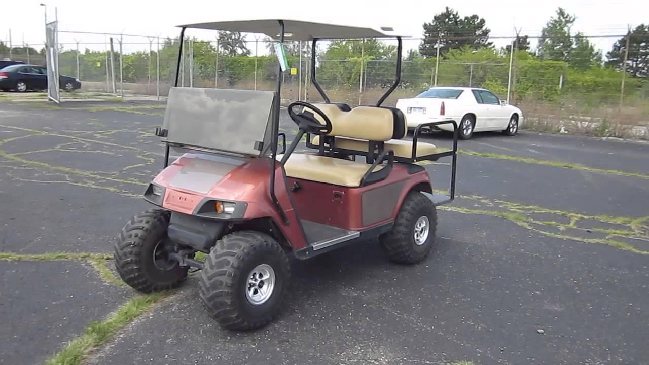 Ez-go Electric 36v Golf Cart