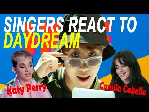 Camila Cabello & Katy Perry Reaction To BTS J-hope Daydream   Singers React