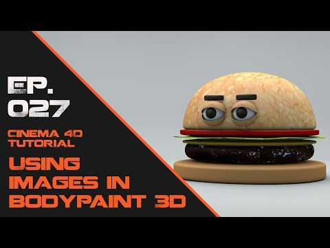 Using Images in Bodypaint in Cinema 4D