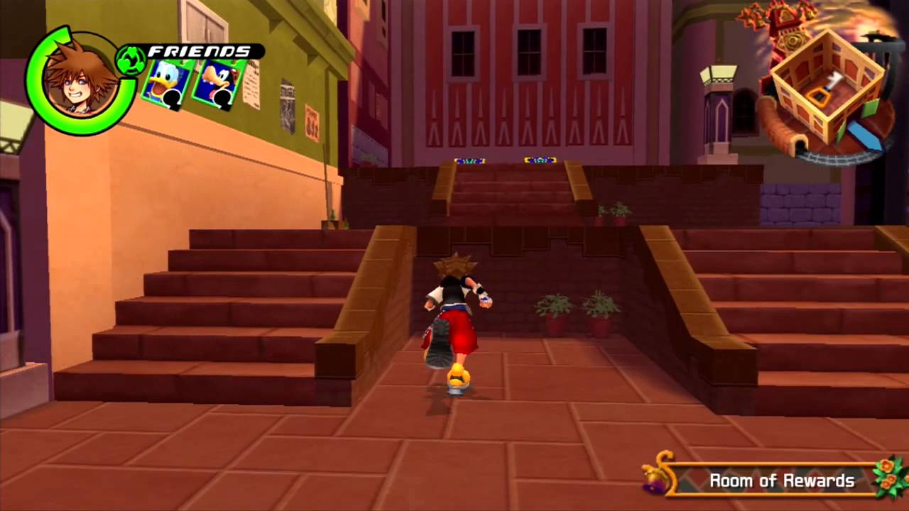 kingdom hearts 1.5 how to get lucky strike for sora