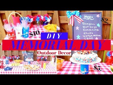 DOLLAR TREE DIY |  4th OF JULY Decorations Ideas | ***EASY & AFFORDABLE ****