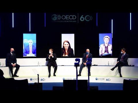 euronews (deutsch): OECD in Paris: Macron fordert erneut Digitalsteuer