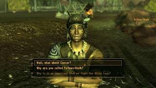 Fallout: New Vegas (PC) - Follows-Chalk Talks About What Joshua Graham Was Like as Malpais Legate