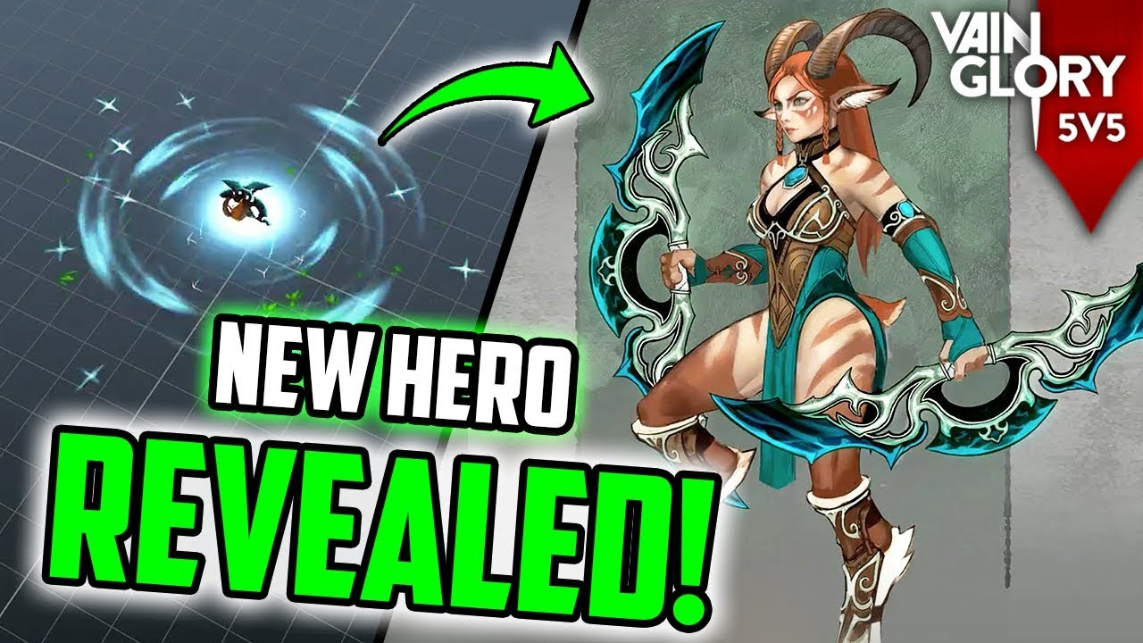 206d931ec4d NEW HERO INARA REVEALED! 😱  VAINGLORY  + JUNGLE CHANGES AND NEW ...
