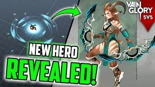 NEW HERO INARA REVEALED! 😱 [VAINGLORY] + JUNGLE CHANGES AND NEW SKIN LEAKS!!
