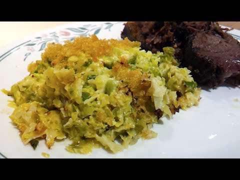 How To Make Low Carb Brussel Sprouts Au Gratin