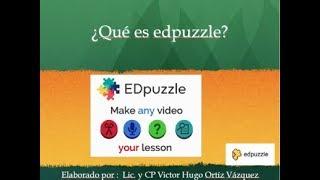 ¿Qué es edpuzzle?
