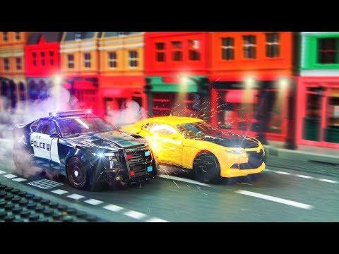 Transformers 5 (2017) TLK Stop Motion Optimes Prime Bumblebee Megatron Hound Sqweeks Car Robot Toys
