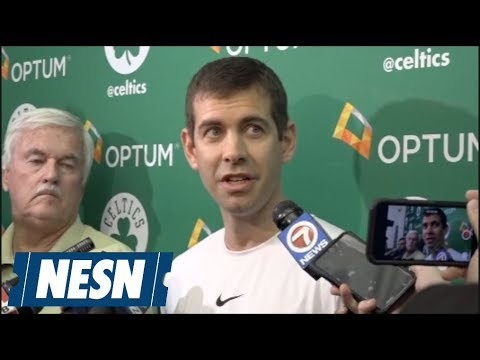 Brad Stevens talks about how Celtics will try to slow down LeBron James