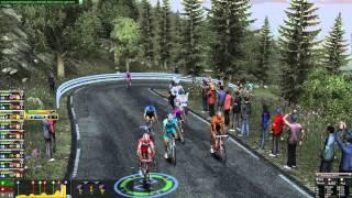 Pro Cycling Manager 2013 Alto de L'Angliru Gameplay