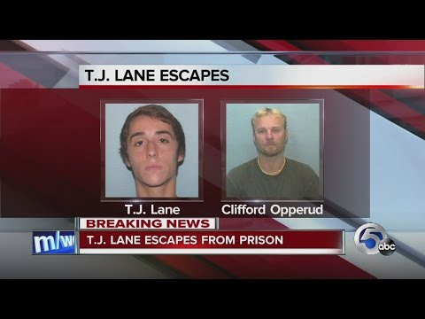 11PM: Chardon High School shooter T.J. Lane has escaped from prison with another inmate