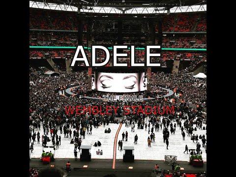 ADELE - The Finale in Wembley Stadium - VLOGAO Inesquecivel ♥