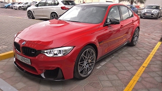 Individual BMW M3 F80 Competition Package w/ Akrapovic Exhaust! Lovely Sounds!