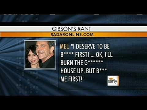 Mel Gibson's Rants Continue