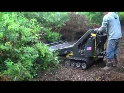 BRUSH BLAZER DEMO CLEARING HUNTING PLOTS #2