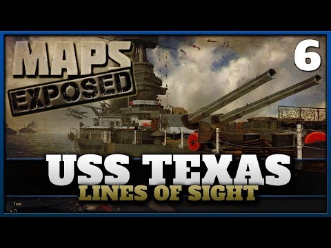 USS Texas Lines of Sight & Secret Spots! | Cod WW2 Maps Exposed #6