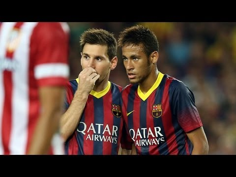 Barcelona vs Atlético Madrid (0-0) All Goals & Highlights 28.08.2013 Barcelona 0-0 Atlético