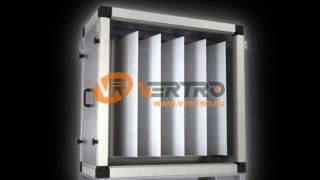 Фильтр карманный укороченный | VERTRO AV 6 - AV 35(Предназначен для очистки воздушного потока от пыли и других твёрдых частиц; - Удобный механизм замены..., 2013-03-12T15:02:51.000Z)