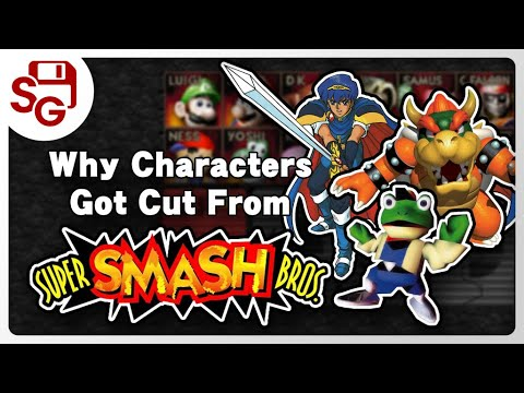 Why Characters Got Cut: Super Smash Bros. 64 - The Missing All-Stars