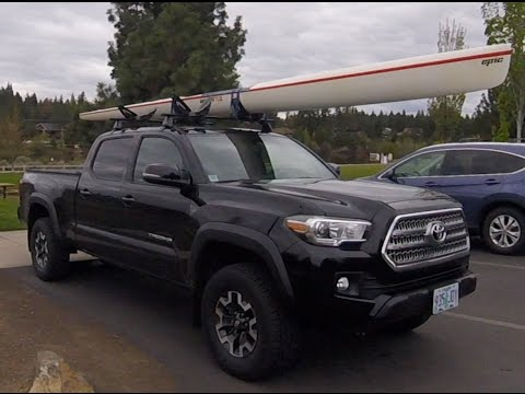 kayaking with the 2016 tacoma