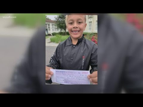 DC - 9-Year- Old Pays off Entire School Lunch Debt after Saving Allowance