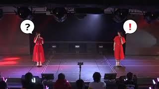 かどつぐ公演「残念少女」でマイクが放置される事件の一部始終(笑) #小熊倫実 #角ゆりあ.