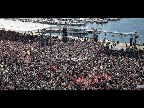 MÉLENCHON : Meeting pour la paix à Marseille - #JLMMarseille