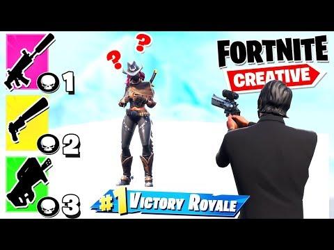 *NOWY TRYB* GUN GAME 🔫 | Fortnite Creative