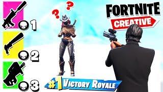 *NOWY TRYB* GUN GAME  | Fortnite Creative