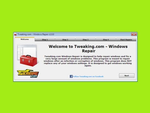 Windows Repair (All In One) FREE Repair Program